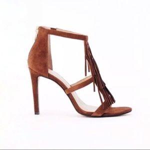 •Ann Taylor• Tara Fringe Pump Sandals